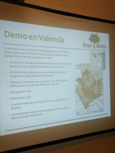 Las Naves and the municipality of Valencia present GrowGreen at the 'Naturally Connecting Cities' conference