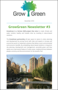 GrowGreen newsletter December 2018
