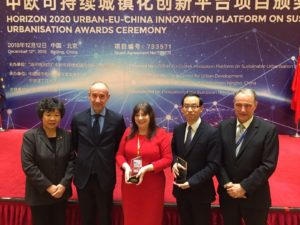 Manchester and Wuhan win at the Horizon 2020 Urban-EU-China Innovation Platform on Sustainable Urbanisation Awards Ceremony