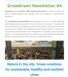GrowGreen newsletter July 2019