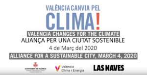 Valencia changes for the climate workshop