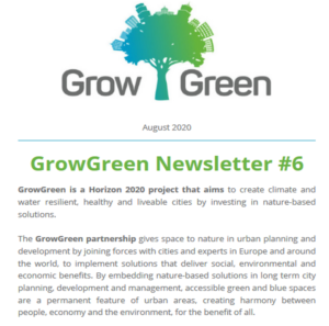 GrowGreen Newsletter August 2020