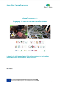 GrowGreen report:  Engaging citizens in nature‐based solutions