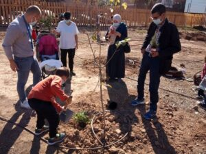 Espai Verd Benicalap opens with 15 plots of urban vegetable gardens